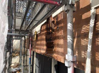多治見市で屋根外壁の塗り替え塗装 ベランダ補修