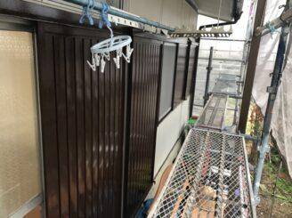 春日井市で付帯部塗装 雨戸の塗り替え完成