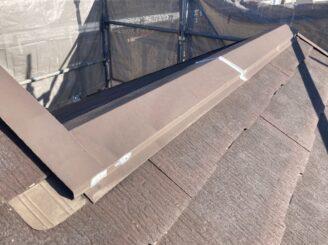 犬山市で屋根外壁塗装 屋根亀裂コーキング
