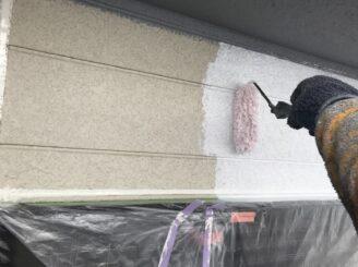 多治見市で屋根外壁塗装 外壁下塗り塗装