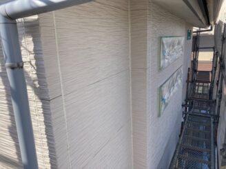 多治見市で外壁の目地の打ち替えの完了