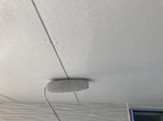 多治見市で軒天井の塗り替え塗装