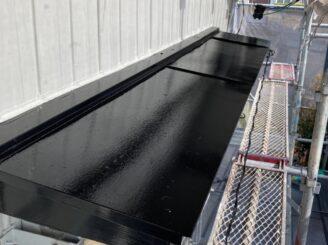 春日井市で屋根外壁塗り替え塗装 小庇塗り替え