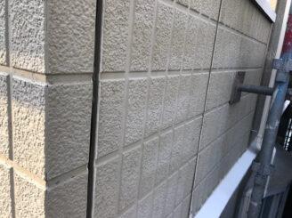 春日井市で外壁の塗り替え塗装 目地撤去