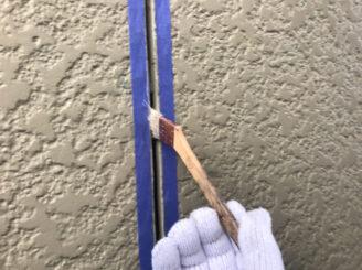 春日井市で外壁の塗り替え塗装 目地打ち替え