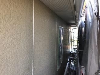 春日井市で外壁の塗り替え塗装 目地打ち替え完成