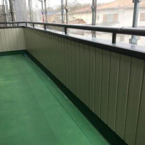 可児市 板金(ガルバリウム)工事 外壁の補修