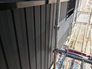 多治見市 外壁をガルバリウムで張り替え 雨樋の交換