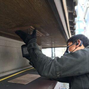 多治見市土岐市 天井の張り替え 軒天井の交換