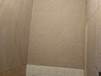 多治見市土岐市 土壁のトイレの壁のリフォーム