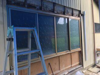 多治見市瑞浪市 外壁の張り直し 窓の交換