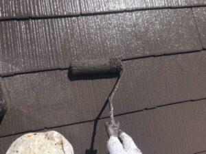 中津川市で屋根塗装、鮮やかな美しい美しい仕上がりになりました、