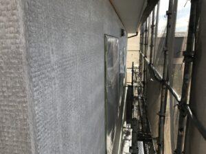 中津川市坂下で、外壁塗装の密着の良い下塗り塗料で施工ました