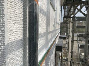 中津川市で遮熱効果のある塗料で屋根外壁工事がすべて完了しました