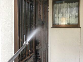 多治見市でフッ素塗料で外壁塗装 高圧洗浄