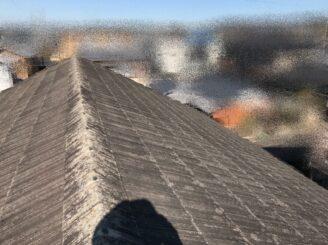多治見市で屋根外壁塗装 現調時写真