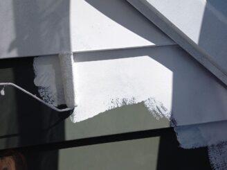 瑞浪市で屋根外壁塗装 屋根下塗り塗装