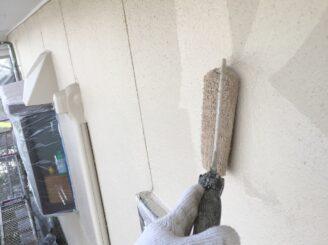 多治見市で外壁塗装 外壁上塗り塗装