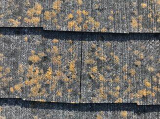 瑞浪市、既存のスレート屋根