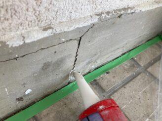 多治見市で外壁塗装 コーキング 補修