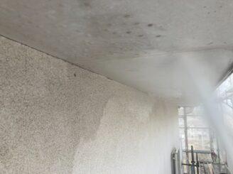 多治見市で外壁塗装 バイオ洗浄