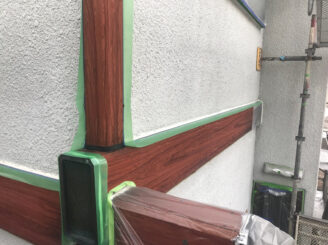 多治見市で屋根外壁塗装 目地コーキング