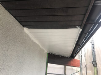 多治見市で屋根外壁塗装 軒天塗り替え塗装