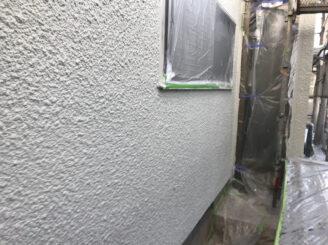 多治見市で屋根外壁塗装 外壁上塗り塗装