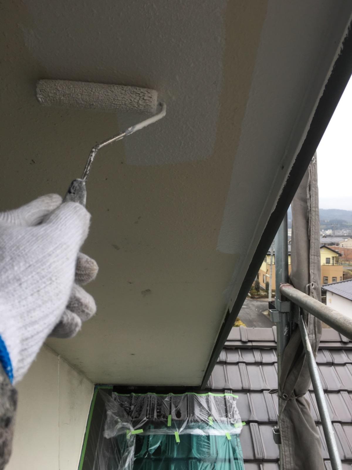 瑞浪市外壁塗装 軒天井塗装