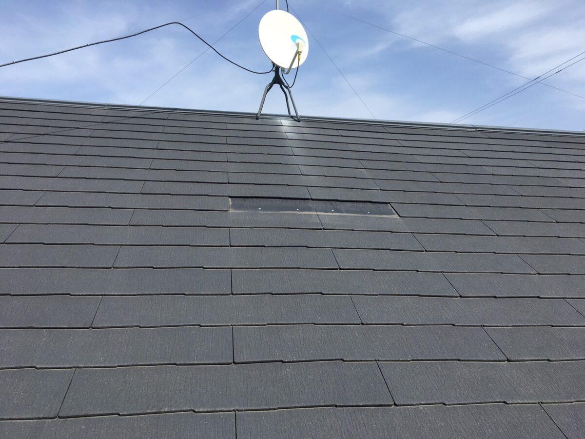 可児市多治見市屋根の補修 屋根工事 スレート瓦の塗装
