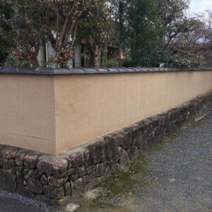 多治見市土岐市ブロック塀の塗装