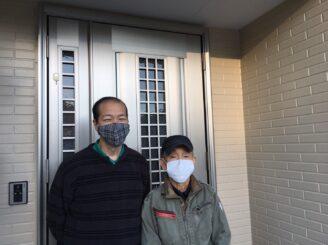 恵那市岩村町で超低汚染リファインSIシリコンで塗装が完了しました。K様のお喜びの声です。
