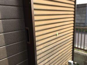 恵那市大井町でサイディング外壁の現場調査にお伺いしました。