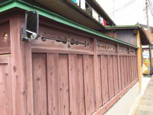 瑞浪市陶町で木の塀をアイジーリホームプラスで覆う注文を頂きました。