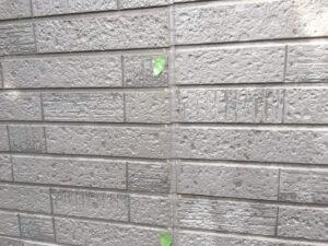中津川市、外壁の汚れ