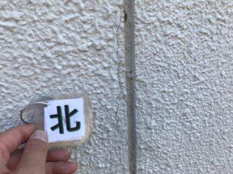 土岐市で外壁塗装 現調時のお家の状態写真