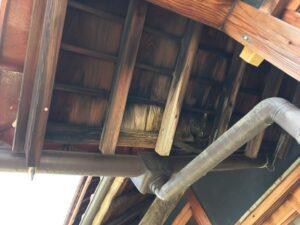 多治見市土岐市 屋根修理 天井に染み