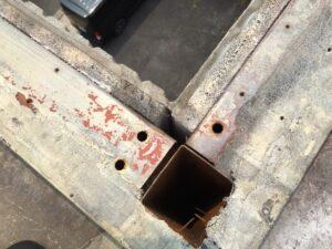 恵那市大井町で、屋上の現場調査にお伺いさせて頂きました。