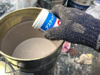 土岐で外壁塗装 塗り替え工事 付帯部 雨戸塗り替え 外壁塗り替え 防カビ