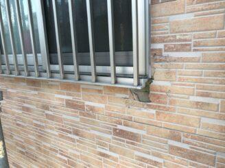 瑞浪市で外壁塗装 外壁剥がれ落ち 外壁一部張り替え