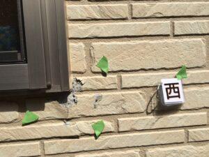 中津川市中津川で外壁塗装の塗り替えの見積り依頼、現場調査に来ました。