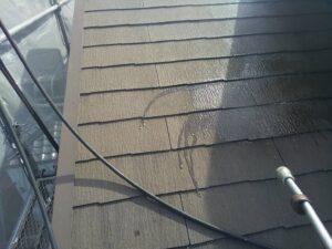 瑞浪市、屋根のバイオ洗浄
