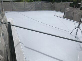 土岐市で外壁塗装 屋上防水工事
