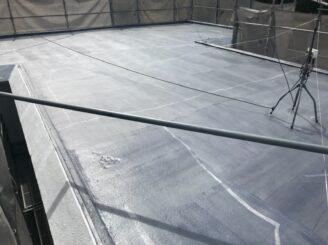 土岐市で外壁塗装塗り替え 屋上防水工事