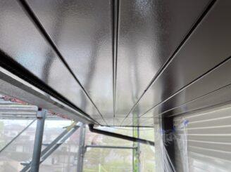 可児市 屋根カバー工法  ガルバ 外壁塗装 軒天井 軒天 塗り替え