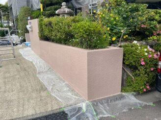 可児市 屋根カバー工法  ガルバ 外壁塗装 防カビ材 塗り替え ブロック塀塗り替え 塀