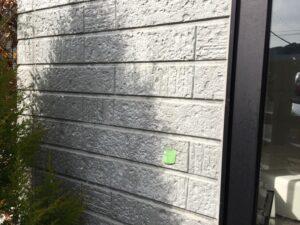 中津川市、外壁の色褪せ