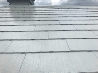 多治見市で屋根外壁塗り替え塗装 シリコン塗装 タスペーサー取付
