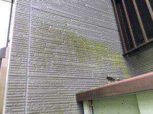中津川市駒場で、サイディング外壁の塗り替え、現場調査にお伺いしました。