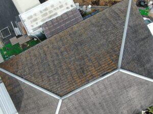 恵那市三郷町野井で、屋根塗装の見積もり依頼が入りました。
